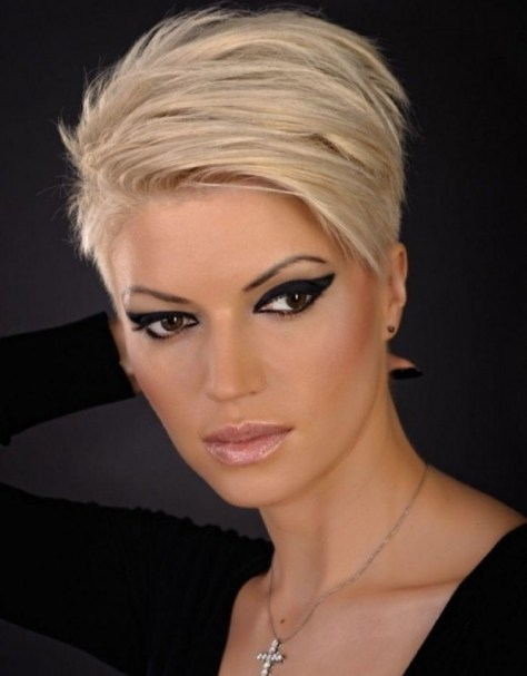 Short Hairstyles for Oval Faces and Thin hair