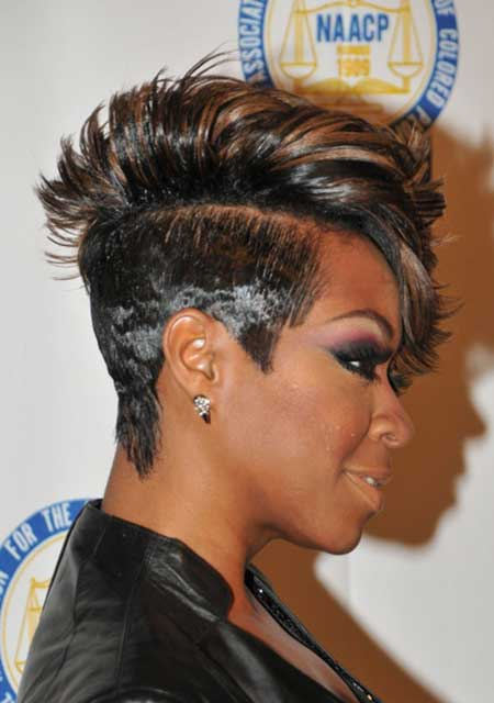 Short Mohawk Hairstyles Black Women