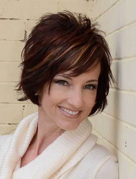 Short Sassy Hair Cuts for Women Over 40
