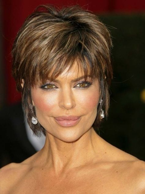 Short Textured Hairstyles for Older Women
