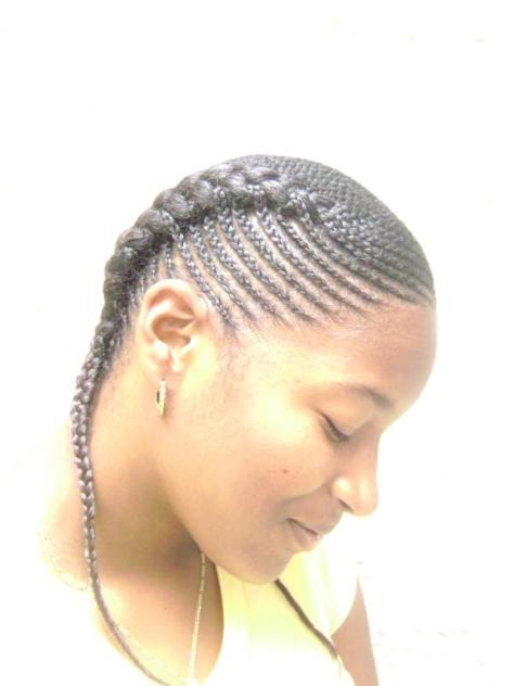 Side Cornrow Braids Hairstyles...