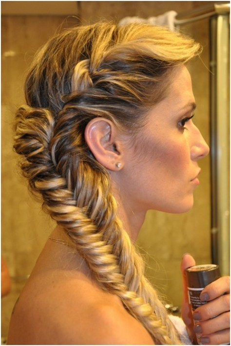 Super Fishtail Braided Hairstyles