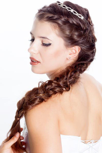 Wedding Hairstyles Long Hair with Braids