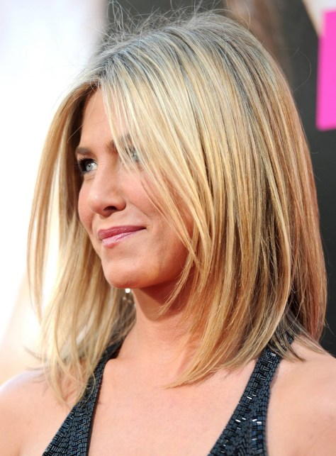 ennifer Aniston Long Bob Hairstyle