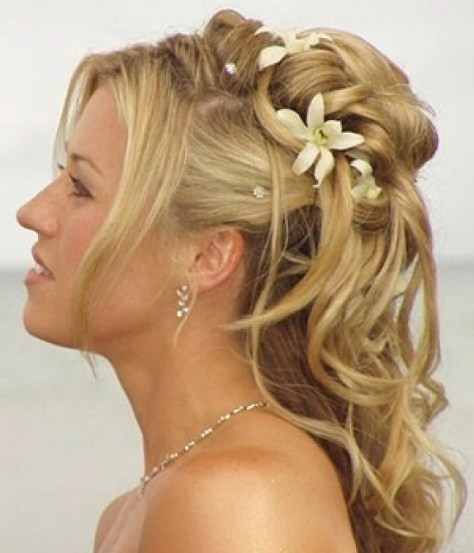 prom hairstyles for long hair down loose curls ...