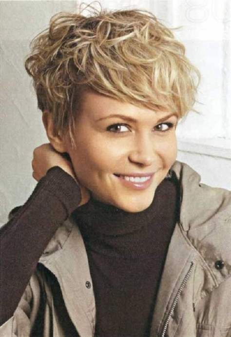 short haircuts for wavy hair and heart shaped faces ...