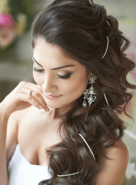 wedding hairstyles for long hair