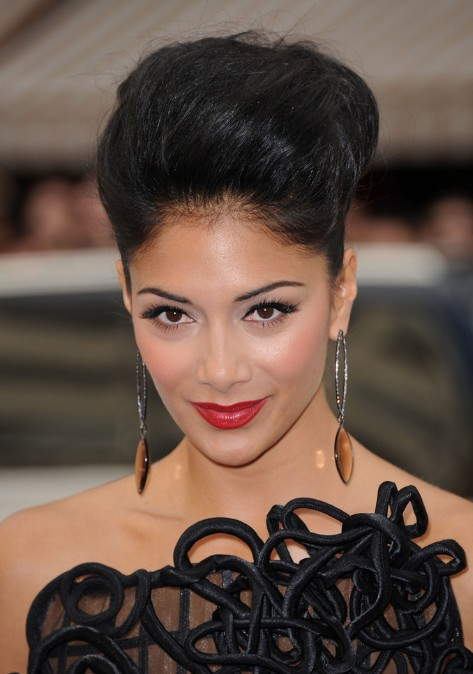 African American Black Updo Hairstyle
