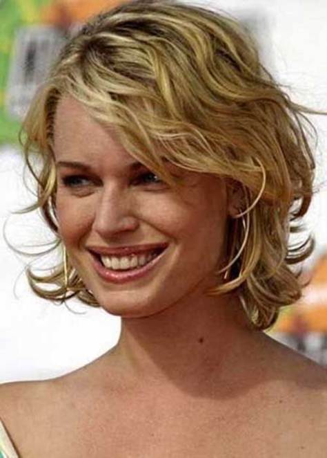 Best Short Haircuts Wavy Curly Hair Ideas