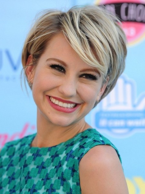 Chelsea Kane's Short Hairstyles