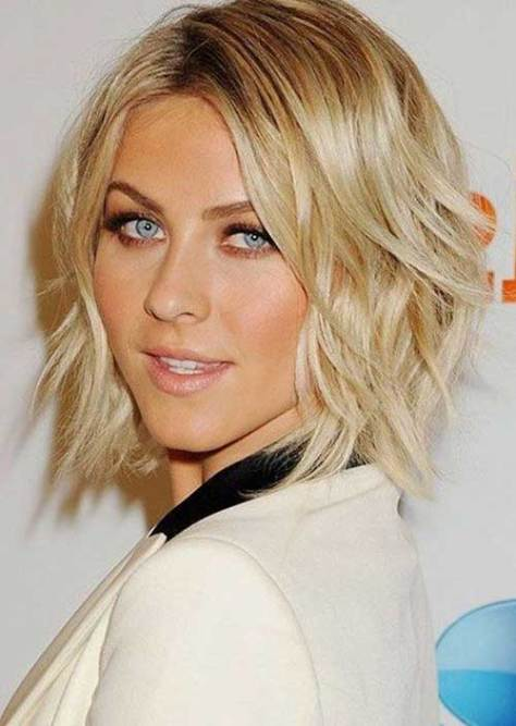 Cute Short Choppy Hairstyle for Fine Wavy Hair