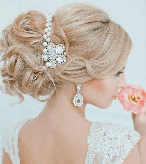 Effortlessly Chic Wedding Hairstyle