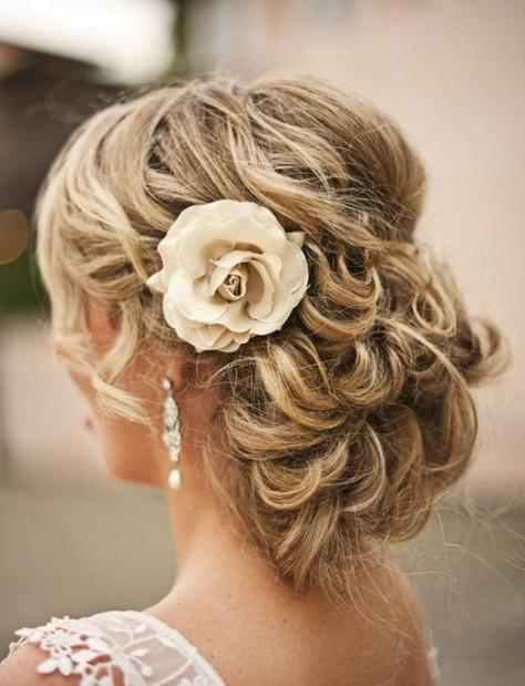 Gorgeous Wedding Hairstyles...
