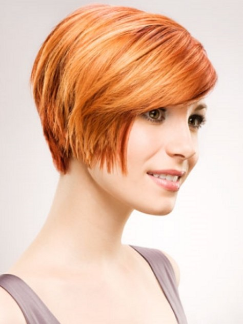 Hairstyle Short Layered Bob Haircut
