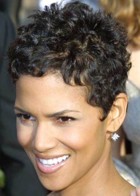 Hairstyles for Short Curly Hair..