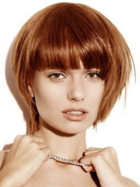 Short Hair Round Face Hairstyles..