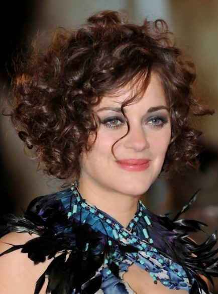 Short Hairstyles Women Curly Hair