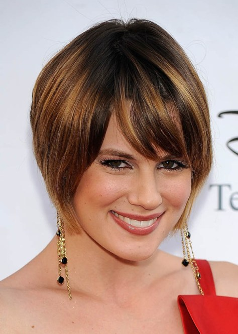 Short Hairstyles Women Thick Hair