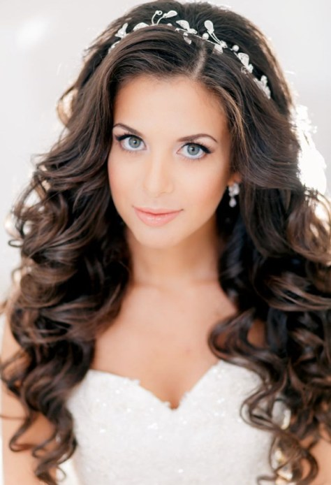 creative long hair wedding hairstyles