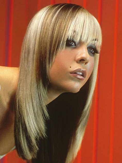 hair beauty with Long Layered haircuts