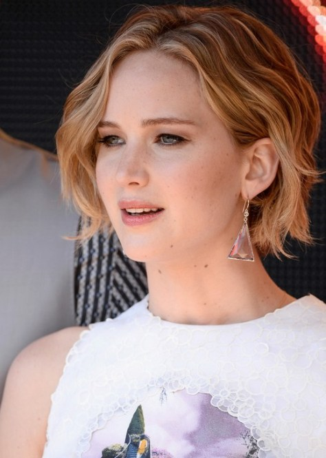 2016 Jennifer Lawrence Haircut