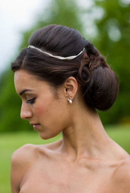 Black Wedding Bridesmaid Hairstyles for Long Hair