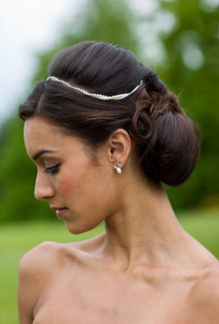 Black Wedding Bridesmaid Hairstyles for Long Hair