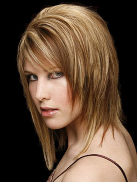 Choppy Medium Length Hairstyles Straight Hair