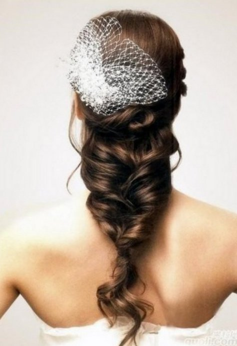 Loose Braid Wedding Hair