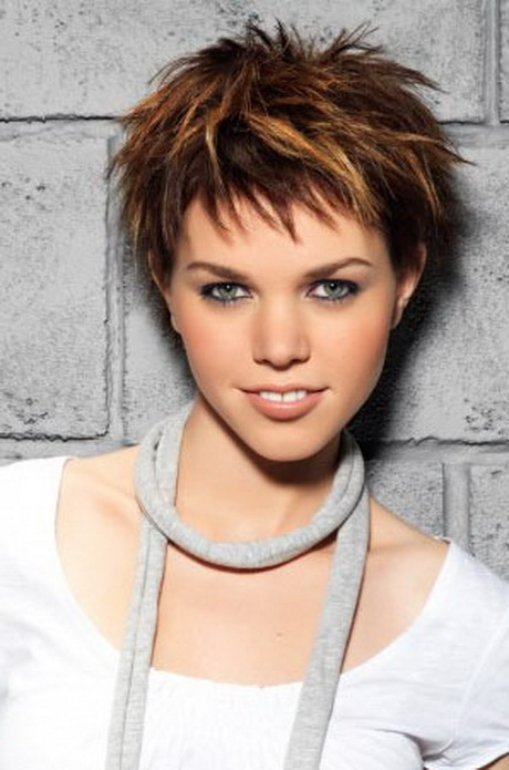 Short Choppy Hairstyles ideas Pics