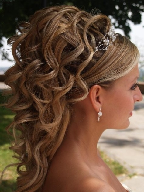 Wedding Hairstyle Long Hair Pics