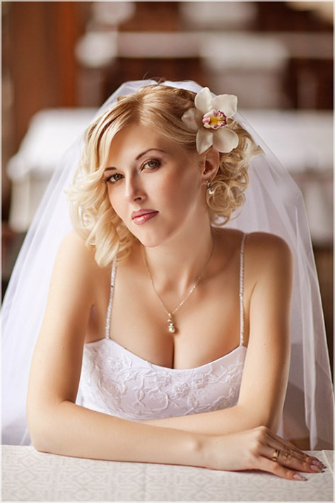wedding hairstyles bob