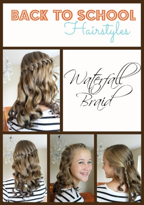 medium hairstyles for school