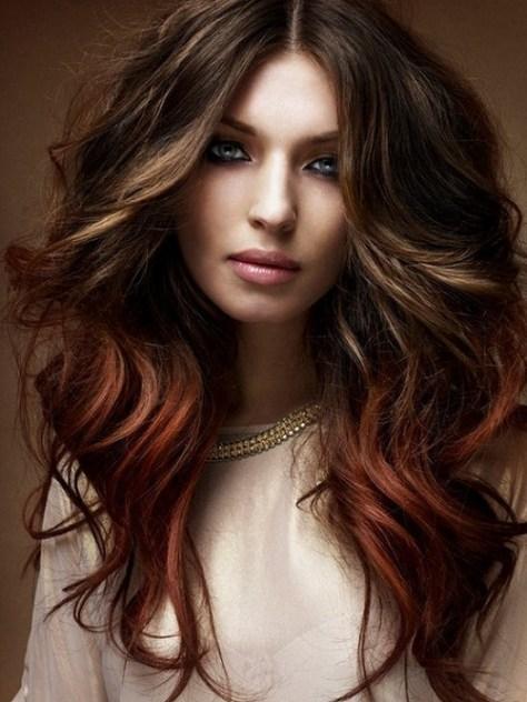 medium hairstyles color