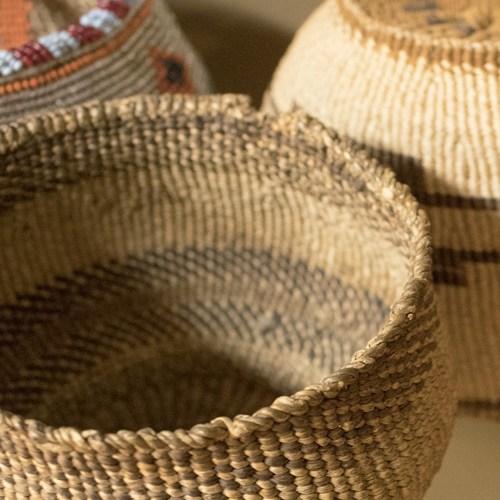 Basketry exhibit