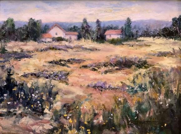 Across the Field by Sue Bennett