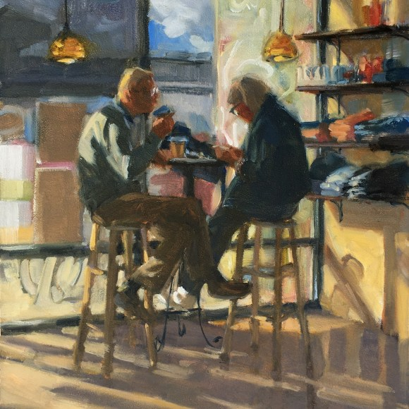 (Grid) Afternoon Coffee by Vicki Shuck