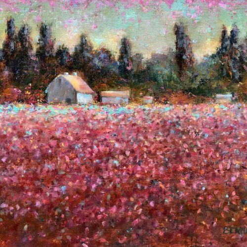 (Grid) Tulip Farm by Sue Bennett