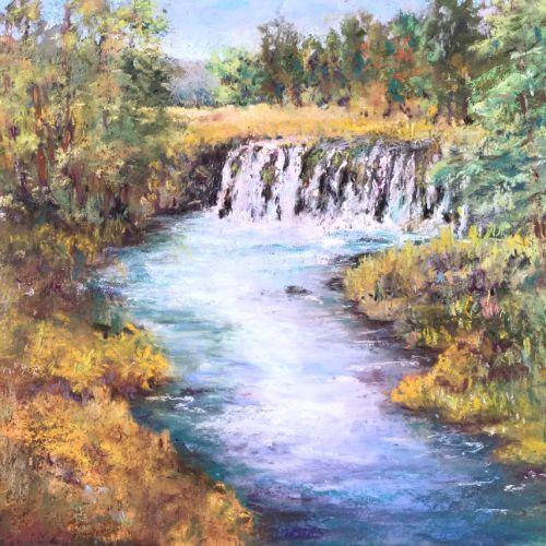 (Grid) Upper Rogue Falls by Steve Bennett