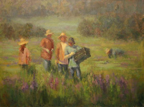 In the Lavender Fields by Karen Leoni