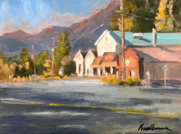 Morning in Surprise Valley by Chuck Prudhomme