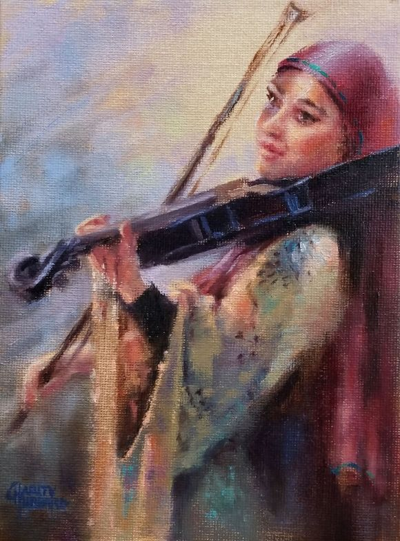 Music on Ben Yehuda Street by Charity Hubbard