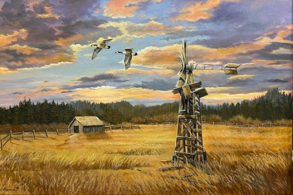 Sunset Memories by Judy Phearson