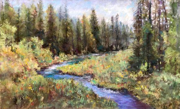 Sycan River by Steve Bennett