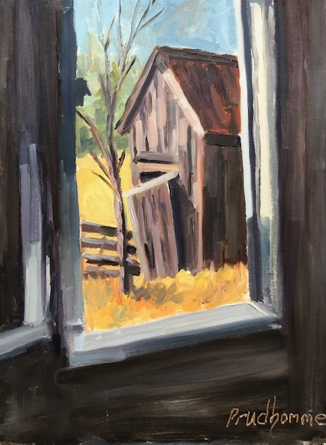 Through the Window of Time by Chuck Prudhomme