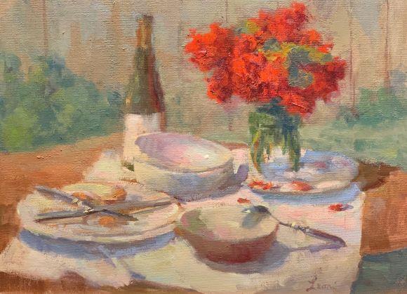 After Dinner by Karen Leoni