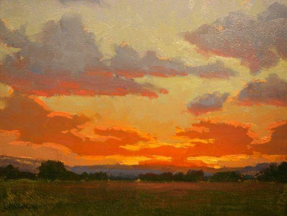Evening Sunset by Chris Manwaring