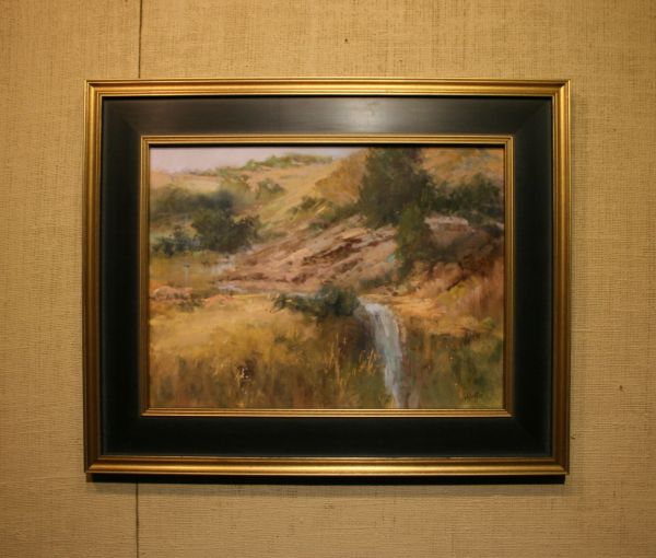 (Frame) Desert Gold by Willo Balfrey