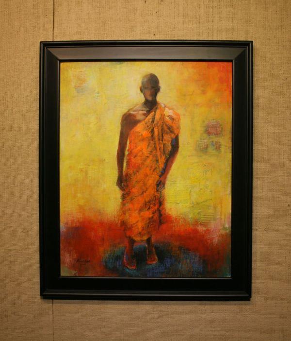 (Frame) Man of Peace by Barbara Enochian