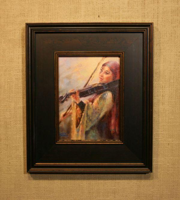 (Frame) Music on Ben Yehuda Street by Charity Hubbard